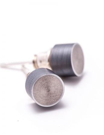 Station Earrings - Dark Grey