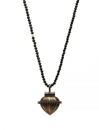 Ex Voto locket necklace