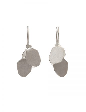 Wisteria 2 Drop Earrings - Silver