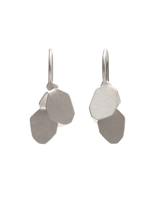 Wisteria 2 Drop Earrings – Silver