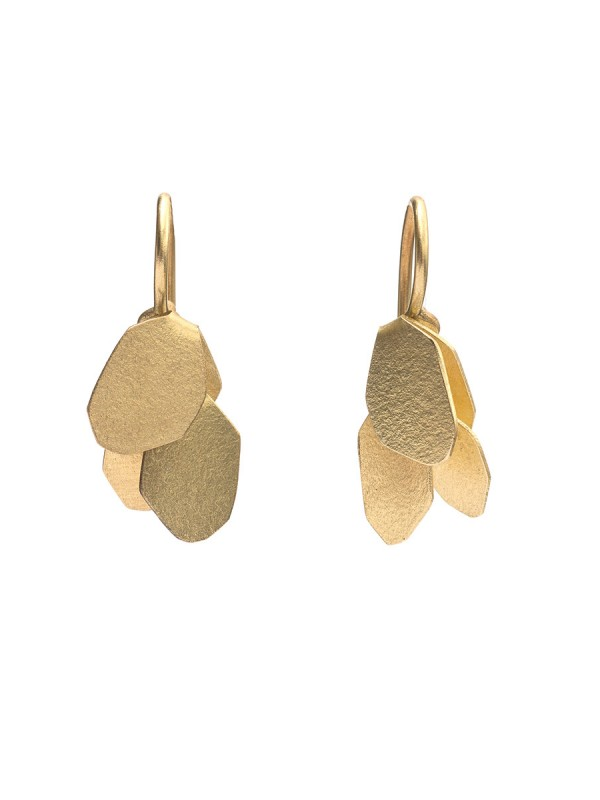 Wisteria 2 Drop Earrings – Gold