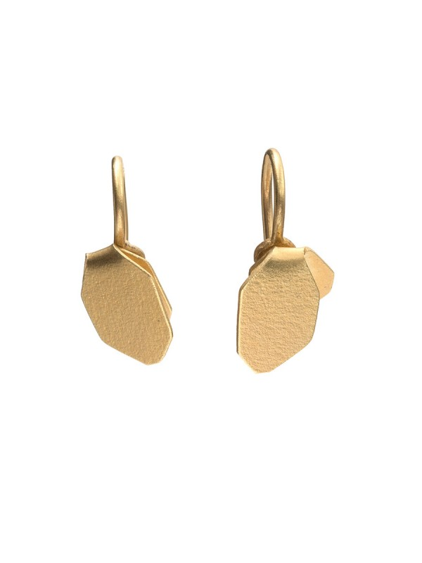 Wisteria Single Drop Earrings – Gold
