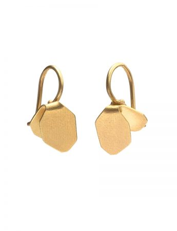 Wisteria Single Drop Earrings - Gold