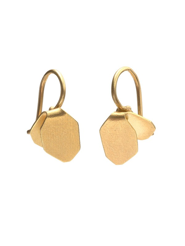 Wisteria Drop Earrings – Gold
