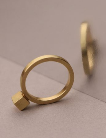 Cubist Ring – Gold