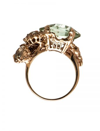 The Other Shore ring – Mint Quartz