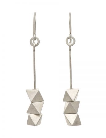 Axis Earrings - Silver