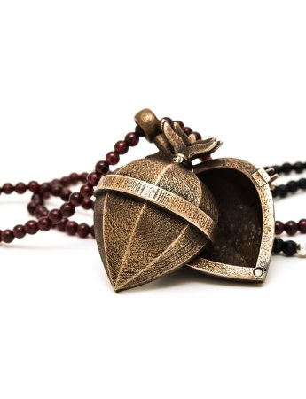 Flamed Ex Voto Locket