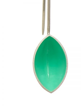 Pod Earrings - Light Aqua