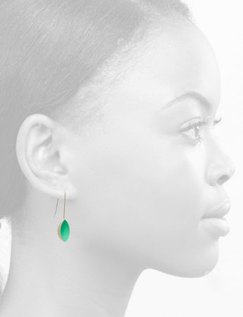Pod Earrings – Light Aqua