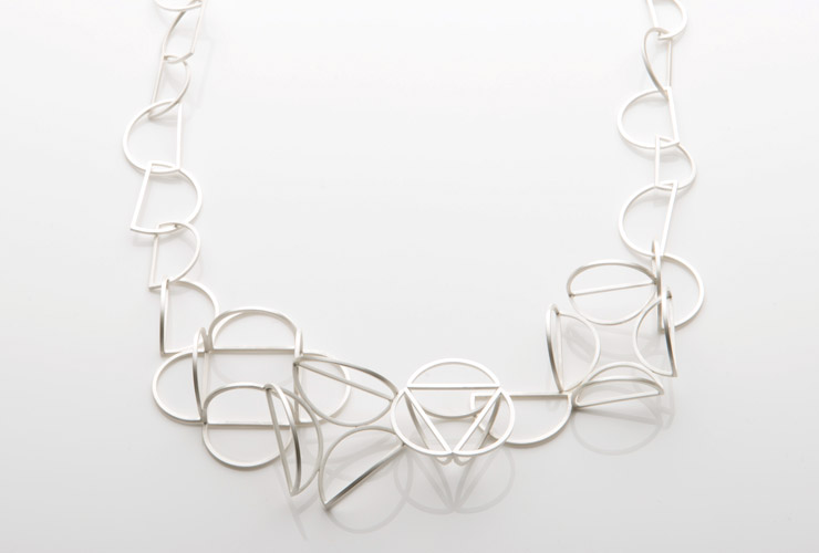 Jo Hawley - Silver Necklace for LOOT