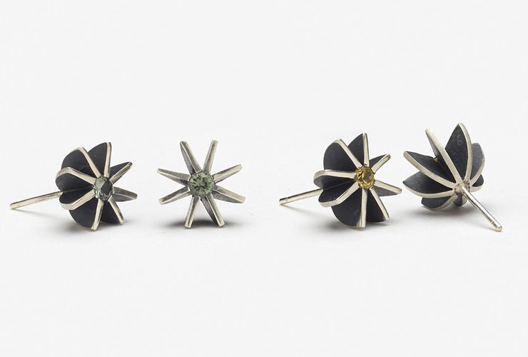 Katheryn Leopoldseder - Radiant Star Earrings