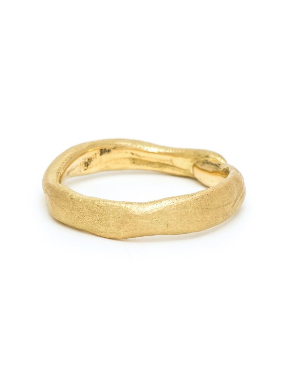 The Beginnings Ring – Yellow Gold