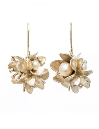 Bouquet Earrings - Pearl