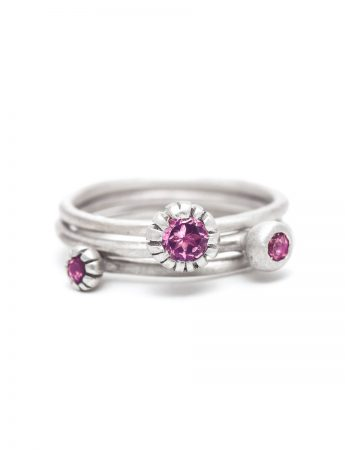 Bouquet Royale Ring - Pink Tourmaline