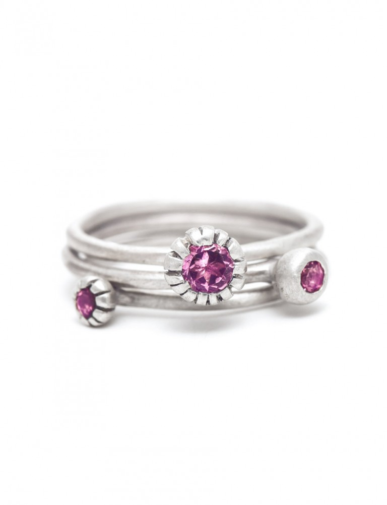 Bouquet Royale Ring – Pink Tourmaline