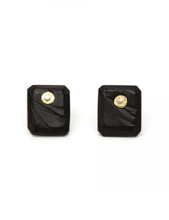 Landslide Earrings - Ebony