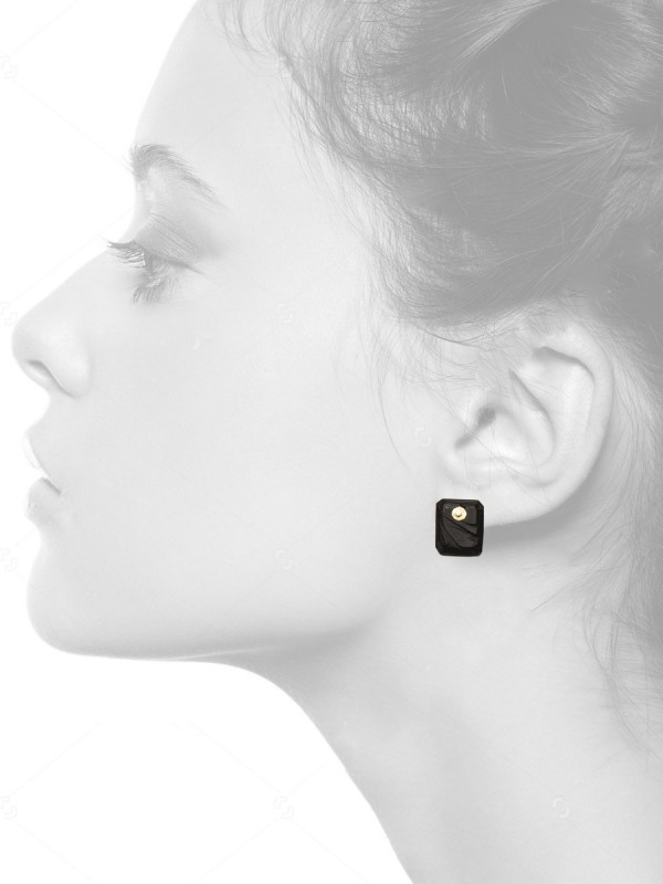 Landslide Earrings – Ebony
