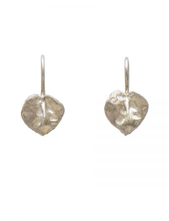 Lily Earrings - White Gold