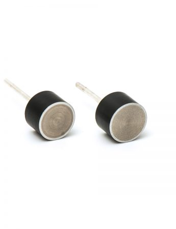Station Earrings - Black