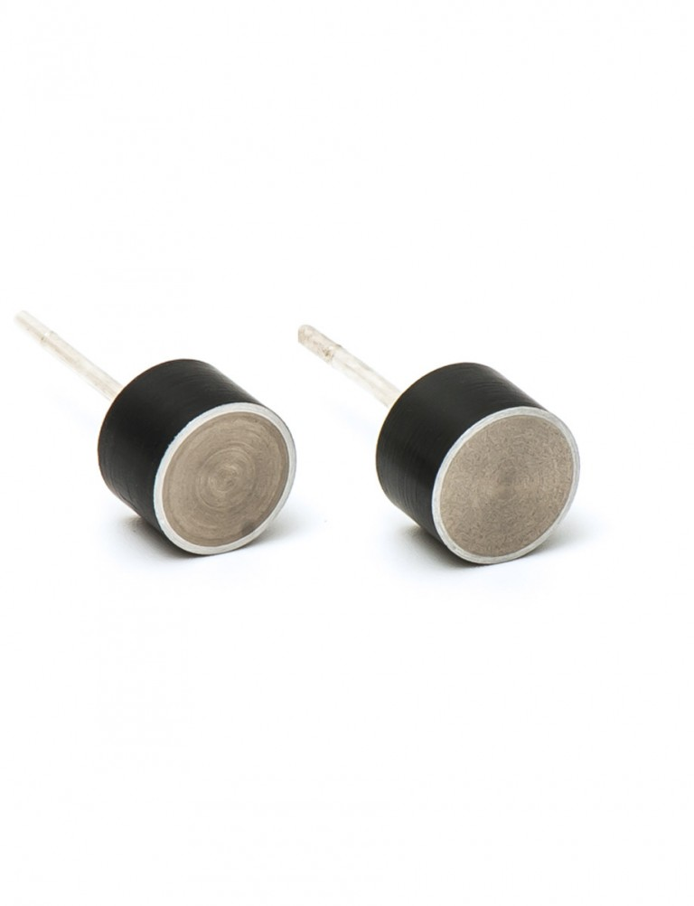 Station Earrings – Black
