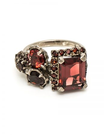 Frozen Ring – Garnet