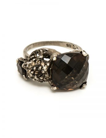 The Other Shore Ring – Smoky Quartz