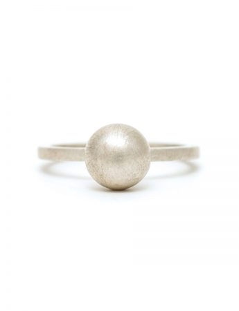 Sphere Ring - Matte Silver