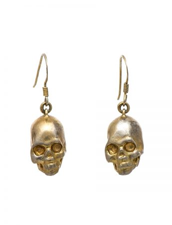 Til Death Earrings – Gold Plate