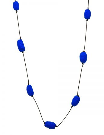 Blue Cocoons Necklace - Paper