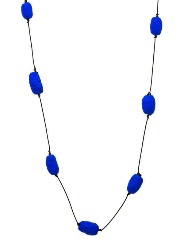 Blue Cocoons Necklace – Paper
