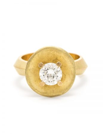 Buttercup Ring - Yellow Gold & Diamond