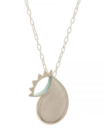Don't Cry Necklace – Blue