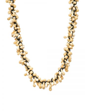Loose Glass Necklace - Ivory
