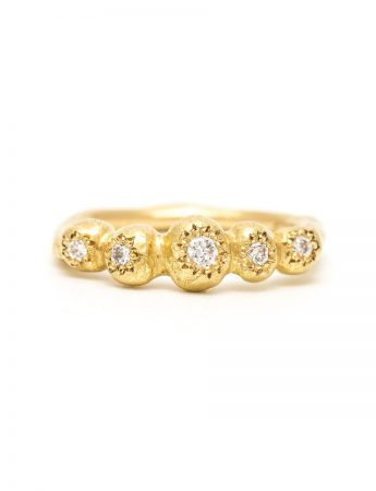 Petit Trousseau Ring - Yellow Gold & Diamond