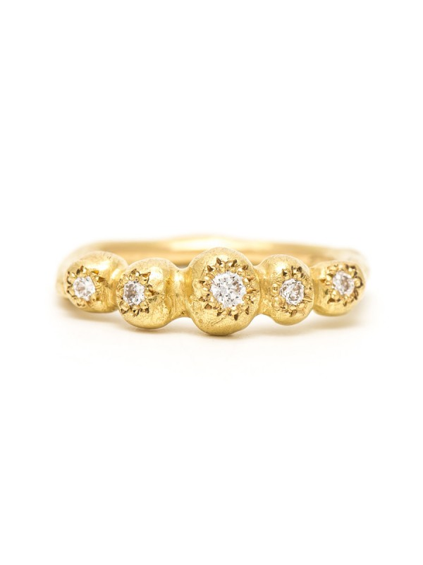 Petit Trousseau Ring – Yellow Gold & Diamond