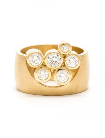 Garden of the Beloved Ring - Yellow Gold & Diamond