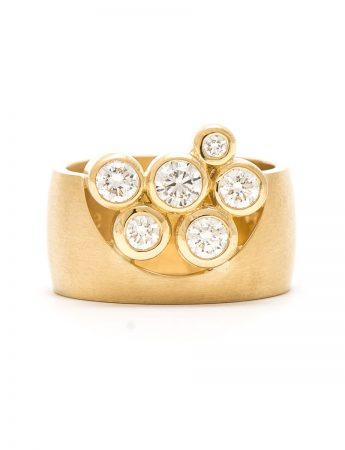 Garden of the Beloved Ring – Yellow Gold & Diamond