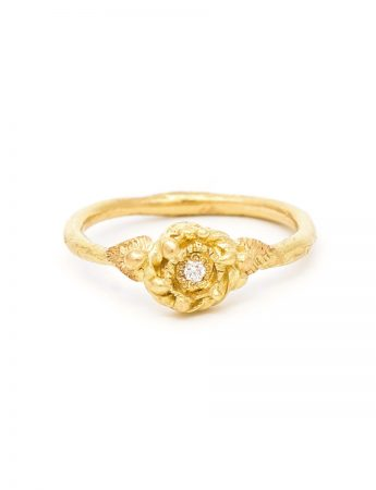 Love Token 1 Ring - Yellow Gold & Diamond