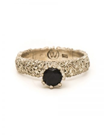 Lost Crown Ring – Black Sapphire