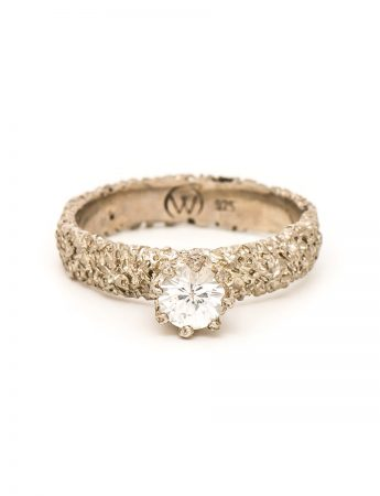 Lost Crown Ring - White Sapphire