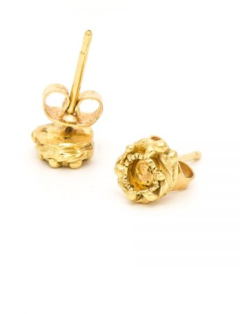 Love Token 1 Earrings - Yellow Gold