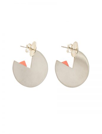 Horizon Earrings - Peach