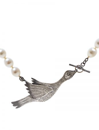 Snow Goose Pearl Necklace