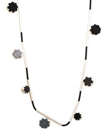 Eucalypt Necklace - Black & White