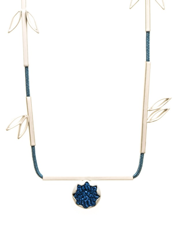 Eucalypt Necklace – Blue & White