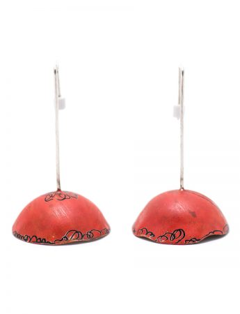 Umbrella Earrings – Red