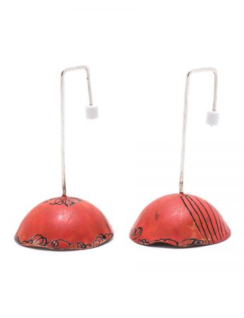 Umbrella Earrings - Red