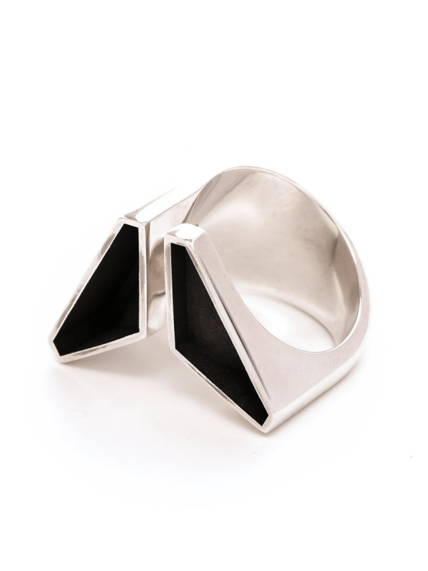 Empty Triangle Ring