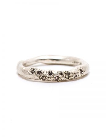 Bespoke Ring - Champagne Diamonds